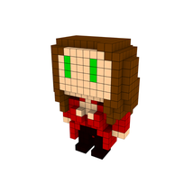 Moxel - Voxel - Scarlet Witch