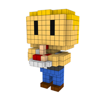 Moxel - Voxel - One Punch Man - Tanktop Al Dente