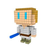 Moxel - Voxel - Luke Skywalker