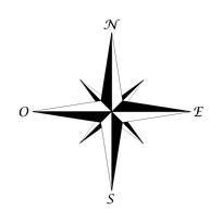 Rose des vents - Image wikipedia