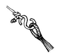 S字フックを使用したイメージ