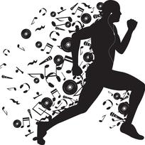 La música mejora el rendimiento deportivo