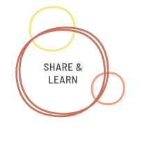 share and learn grow together with others