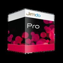 Das Pro-Paket bietet alle Möglichhkeiten von Jimdo an, sogar ein kleiner Shop mit 5 Produkten ist im Preis dabei.