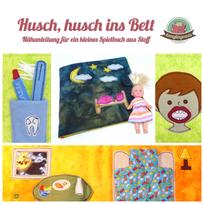 Quiet book Spiebuch Stoffbuch Nähanleitung Nähanfänger Einschlafbuch Kind ins Bett bringen