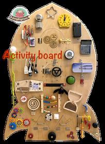 Busy board, Activity board, Montessori Spielbrett, Haptik, Motorik, busyboard, fidgetboard, finemotorskills, earlylearning, woodentoy, handmade, sensoryplay, beschäftigungfürkinder, diy, bedürfnisorientiert, kleinkind, toddler, selbstgemacht