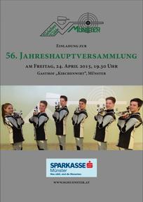 Jahresrückblick, Schützengilde, Münster, JHV