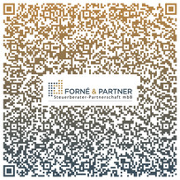 V-Card mit vollständiger Anschrift als QR-Code
