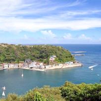伊豆大島の波浮港