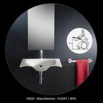 WPS ERGO-Serie Handwaschbecken für Alt & Jung , nicht nur mehr Freiheit auch mehr STIL und Comfort