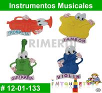 instrumentos musicales foamy