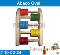 Abaco Oval MATERIAL DIDACTICO MADERA INTQUIETOYS PRIMERDI