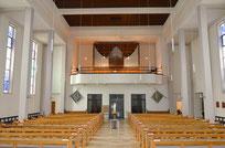 Orgelempore Christus König (noch leer...)