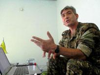 YPG's talsmand Redur Khalil