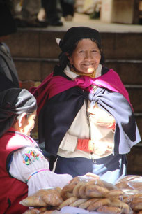 Au marché d'Otavalo