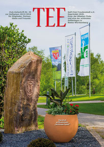 Jahres-Magazin für den Golf-Club Freudenstadt. Gesamtkonzept. Gestaltung. Abwicklung.