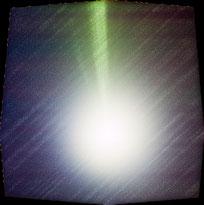 石垣島天文台が捉えた、ラブジョイ彗星(同天文台提供)