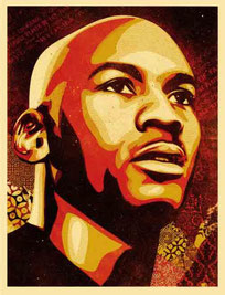 Shepard Fairey Jordan Hall of Fame