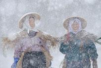雪の里の女性たち/関根 正明
