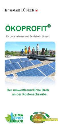 Flyertitelbild zum Projekt Ökoprofit