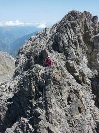Didier Nicard - Guide de haute montagne - Escalade haute montagne - Tête de MoÏse - Via ferrata - Traversée des arêtes.