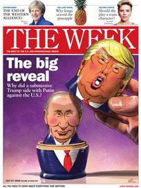 Путин Владимир, Президент России, The week 27 июля 2018