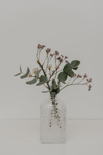 Vintage Vasen eckig