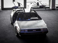rent a delorean schweizer k i t t replica und. Black Bedroom Furniture Sets. Home Design Ideas