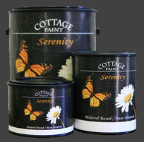 Cottage Paint, Serenity furniture restoring paint