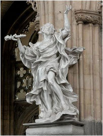 Del Cour, Saint Jacques le Mineur, Eglise Saint-Jacques, Liège, copyright : M.Lefftz
