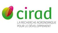 Logo et accès au site Web du CIRAD