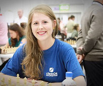 Melanie Ohme Schacholympiade 2014 Tromsö