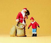 Preiser 65335 Weihnachtsmann mit Kind
