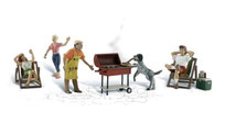 Woodland Scenic 2765 Barbeque-Abend