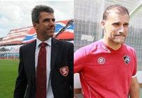 Carlo Perrone e Stefano Sanderra