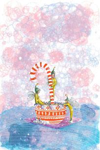 Elisabeth Wächter_Elisavetha_Illustration_Image_Weihnachtsbebräu_Gouache_Ink_google