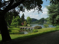 Jardin Anglais de Stourhead (Source Hans Bernhard. Wikimedia).