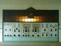 Schalttafel im Maschinensaal