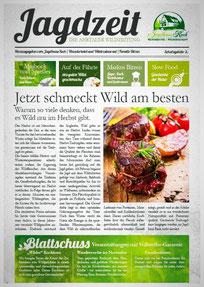 Aktuelles rund um Wild, Wildfleisch, Wild Restaurant und Wildfleisch Verkauf vom Jäger und Koch