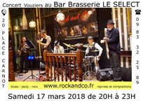 Rockandco bar Le Select Vouziers