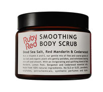 Natural bodycare PR. Ruby Red Reviving natural skincare products.