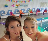 Meerjungfrauen Schwimmen Lehrschwimmbad Niederwangen