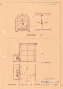 117-002 Planskizze, Archiv RhB