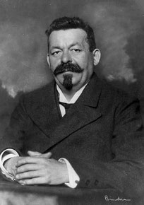 Friedrich Ebert (1871-1925), 1918. Archiv der sozialen Demokratie der Friedrich-Ebert-Stiftung