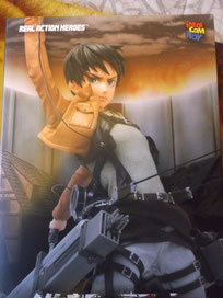 Attacco dei giganti Shingeki no Kyojin Medicom Toy Real  Action Heroes - Eren Yeager