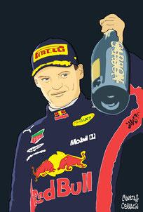 Max Verstappen winner
