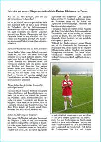 Interview mit Bürgermeisterkandidatin Kariene Eikelmann Teil 1