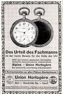 Überregionale Werbeanzeige 1913