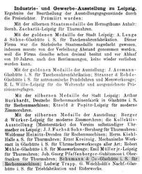 [X] Allgemeines Journal der Uhrmacherkunst 5. Beilage Nr.23 vom 06. Juni 1897 S.461/462