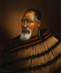 Māori Portrait - Gottfried Lindauer